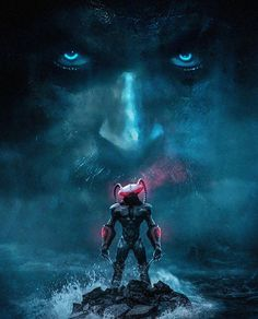 Aquaman Movie Concept Art with Aquaman facing off with Black Manta Villain in upcoming stand alone movie, See all the upcoming DC Extended Universe Movies - DigitalEntertainmentReview.com