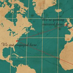 world map theme wedding invites-or an awesome thing to incorporate into our wedding as a theme!!!