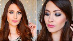 Maquillaje: Soft Smoky + Rostro completo (Cómo corregir, contornear, ilu...