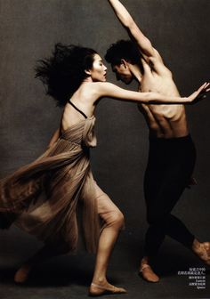 ♪♫ Dance ♪♫ Soul Dance - Daniel Jackson & Liu Wen, Sui He & Ming Xi by Daniel Jackson for Vogue China May 2012