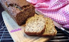 Chlebík na ploché brucho (fotorecept) Banana Bread, Clean Eating, Healthy Recipes, Healthy Food, Paleo, Low Carb, Cooking, Desserts, Breads