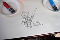 Lego Star Wars b-day party ideas