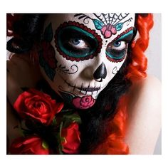 Day of the Dead. make-up