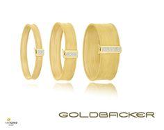 Coleção Tesuto feito em ouro amarelo 18k com detalhes em diamantes