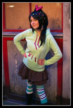 Vanellope Wreck-It Ralph Costume yes!!! I'm so doing this this year!!! 2013
