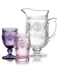 pressed glass ware.. beautiful