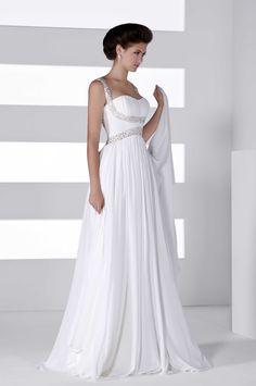 Agatha wedding gown for pregnant bride