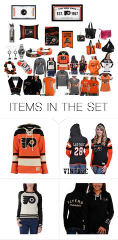 """Philidelphia Flyers"" by queen26yassy on Polyvore featuring art"