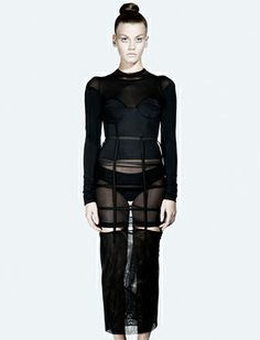 Chromat Futurist Maxi Skirt // Made in NYC