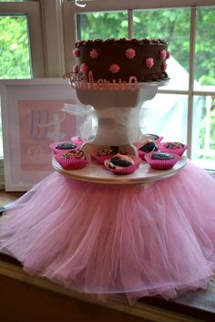pink/ballet theme Ballet Recital Reception Party Ideas | Photo 20 of 44 | Catch My Party