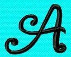 LOTS of Free font embroidery-applique files to download