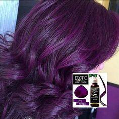 Máscara Tonalizante da Exótic Colors na cor Uva Graper   Enviamos para todo o Brasil  Podem mandar mensagem por Direct ou no whats (47) 99788-9540    Parceria ➡ @tattooleme   #exoticcolors #exoticcolorscriativ #lojaondadecores #estudiolemetattoo  .  .  .  .  .  .  .  .  .  .  .  .  .  .  #purplehair #coloredhair #cabeloscoloridos #love #hair #hairofinstagram #hairstyle #hairfashion #instahair #instalike #instagood #mermaidhair #hairofinstagram #cute #haircute
