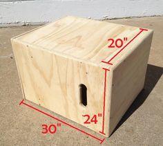 20x24x30 Wooden PlyoBox