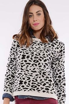 #sweater #animalprint #animal #print  #tendencias #temporada2015 #otoño #invierno