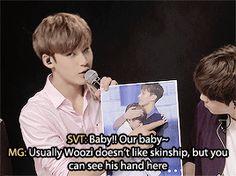 SEVENTEEN teasing Woozi