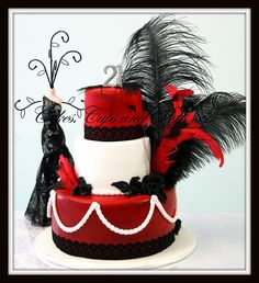 Gangsters and Flappers Cake