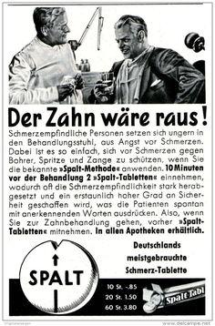 Original-Werbung/ Anzeige 1965 - SPALT TABLETTEN / MUCH AG - BAD SODEN - ca. 65 x 110 mm