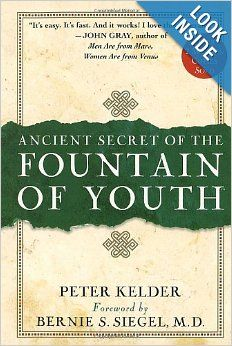 A book on the Five Tibetan Rites, a set of 5 basic exercises perfected by Tibetan monks over centuries. An exercise program used by Tibetan monks to live long, vibrant and healthy lives. The benefits are described in this book and a subsequent book 2 with an expanded description of the program by the publisher called the Ancient Secret of the Fountain of Youth - Book 2, a companion to the original book by Peter Kelder.
