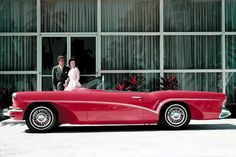 Buick Wildcat III show car from the 1955 Motorama