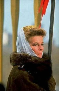 Katharine Houghton Hepburn played Eleanor of Aquitaine in 1968 (for which Hepburn won the Academy Award for Best Actress and the BAFTA Award for Best Actress in a Leading Role and was nominated for the Golden Globe Award for Best Actress - Motion Picture Drama).  www.eleanorofaquitaine.net