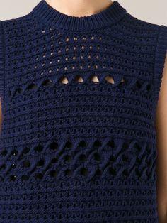 Proenza Schouler Chunky Knit Tank Top - The Webster - Farfetch.com