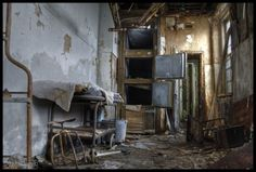 Morgue in an abandoned children
