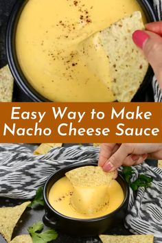 Nacho Cheese Sauce is the very fundamental model of nacho cheese sauce, which you can customise or enhance many different approaches. Try substituting half of of the cheddar with pepper jack, or stirring in a 4oz. Can of diced inexperienced chiles. Experiment with the seasonings by way of adding a pinch of garlic powder, cumin, or maybe cayenne pepper. Stir in some sliced green onions, or a can of Rotel tomatoes (drained). You can surely have fun with this one. Best Soup Recipes, Healthy Soup Recipes, Vegan Dinner Recipes, Vegan Dinners, Mexican Food Recipes, Ethnic Recipes, Easy Vegan Soup, Nacho Cheese Sauce, Rotel Tomatoes