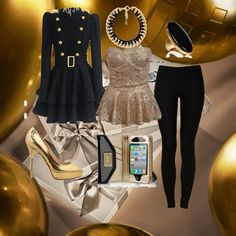 """""""Out on New Years Eve"""" by michelle-barrientos on Polyvore"""
