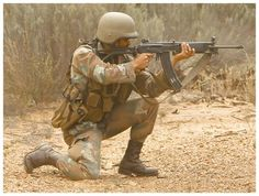 """""""Vektor (south african galil variant) with 50 round magazine. Tactical Survival, Tactical Gear, Indian Army Special Forces, South African Air Force, New Africa, Defence Force, Custom Guns, Military Guns, Cool Guns"""