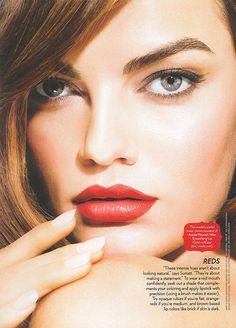 Aveda Nourish Mint Smoothing lip Colour in Cana. Aveda Makeup, Skin Makeup, Makeup Art, Brazilian Supermodel, Photo Instagram, Instagram Posts, Victoria's Secret, Evening Makeup, Lip Colour