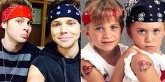 Shocking new evidence that 5SOS's Luke Hemmings and Ashton Irwin are actually the Olsen twins - Sugarscape.com