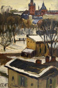 HANS HARTIG (1873-1936) Outlook Window (Pankow)