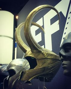 """I am burdened with glorious purpose #loki #comiccon #helmet #sdcc #marvel"""