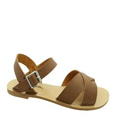 Another great find on #zulily! Brown Cameron Sandal #zulilyfinds