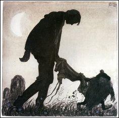 Illustrazione di John Bauer  Grazie a Roba da Disegnatori