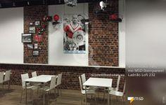 Fußballclub RWE mit Steinpaneel Ladrillo Loft von StoneslikeStones - 02109