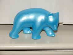 Bear Upcycled Vintage Bear Pottery by BackStageVintageShop on Etsy