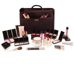 Jouer Cosmetics: deluxe professional case: deluxe makeup case with jouer cult-favorites collection