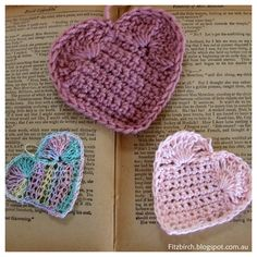 What better way to celebrate my first Valentine's Day as a fully fledged crochet addict, than to crochet a heart or two.  I had a fabulou...
