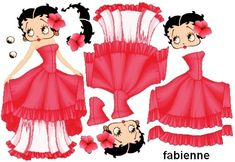 Betty Boop Evening Gown