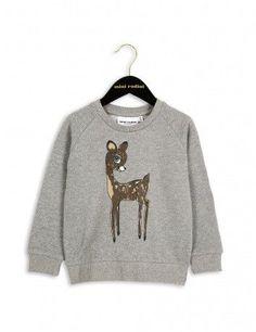 Mini Rodini Bambi Sweatshirt | Grey