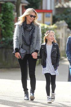 Shopping y looks inspirados en el estilo boho: Kate Moss y su hija Lila Grace