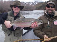Ned's Big Winter Buck 1'08 Klamath River, Sacramento River, Fall River, Trout, Fly Fishing, Big, Winter, Fly Tying