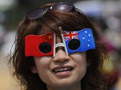 Number of Chinese tourist down under triple. ......Don't be surprised to start seeing tourist signs in Chinese as well as English around the world.