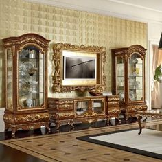 - Architecture and Home Decor - Bedroom - Bathroom - Kitchen And Living Room Interior Design Decorating Ideas - Victorian Furniture, French Furniture, Home Decor Furniture, Home Decor Bedroom, Luxury Furniture, Living Room Decor, Furniture Design, Tv Wall Design, Door Design