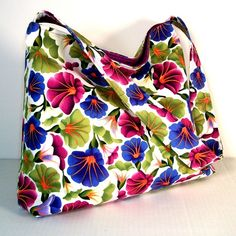 Spring Fashion Clearance  Shoulder Bag Floral by JHFabricCreations, $25.00