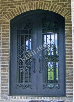 Double iron doors. www.kohliron.com