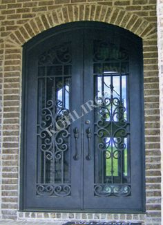 Double iron doors. www.kohliron.com