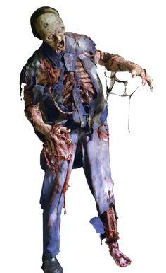 Sewer Dweller - Free Standing Zombie Sewer Dweller. Foam Fill Body With Steel Frame