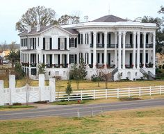 Nottoway Plantation, near Baton Rouge La.  This place is awesome and beautiful